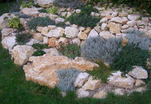 Kertépítő kövek
